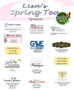 Monrovia Providers Group Lisa's Tea Sponsors